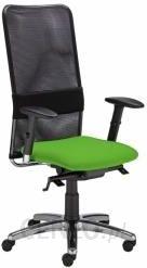 Krzesło biurowe, obrotowe MONTANA HB LU R15G steel11 chrome