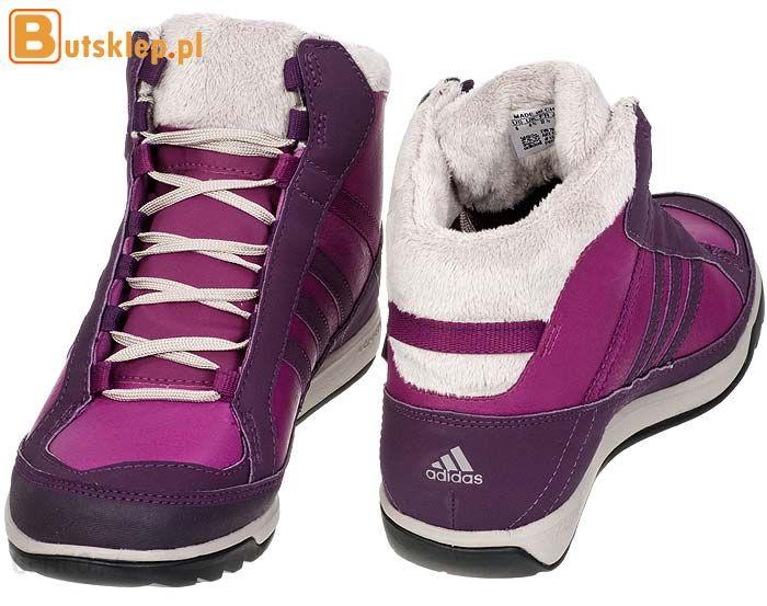 Buty Adidas Choleah Sneaker PL (G50491) Różowe, Fioletowe