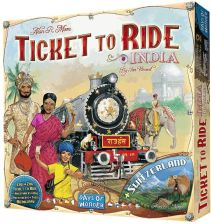 Ticket to Ride: India/Switzerland
