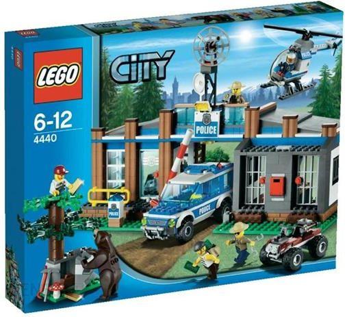 Klocki Lego City Leśny Posterunek Policji 4440 Ceny I Opinie