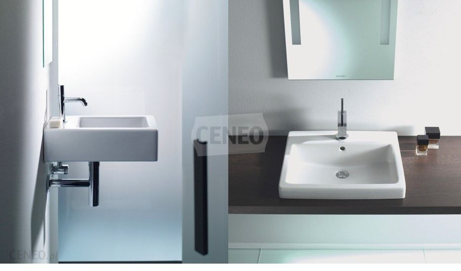 umywalka duravit vero 60x47 0454600030 opinie i ceny na. Black Bedroom Furniture Sets. Home Design Ideas
