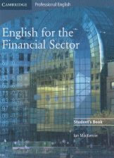 English for the financial sector students book