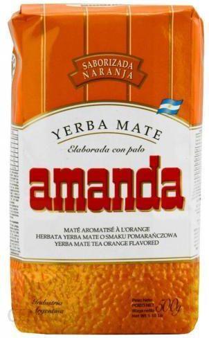 4b4ea1f94c3604 Yerba mate amanda pomarańczowa 500g - Ceny i opinie - Ceneo.pl
