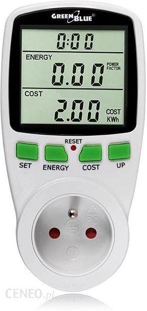 Miernik Uniwersalny Greenblue Miernik Energii Watomierz Gb202 Opinie I Ceny Na Ceneo Pl