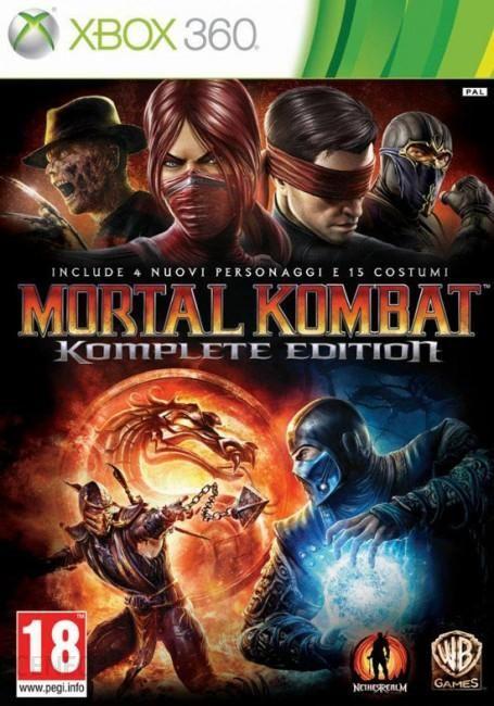 Mortal Kombat Komplete Edition Gra Xbox 360 Ceneo Pl