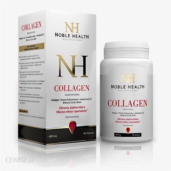 Kolagen W Tabletkach Noble Health Opinie I Ceny Na Ceneo Pl