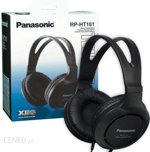 """Panasonic RP-HT161E-K"" juoda"