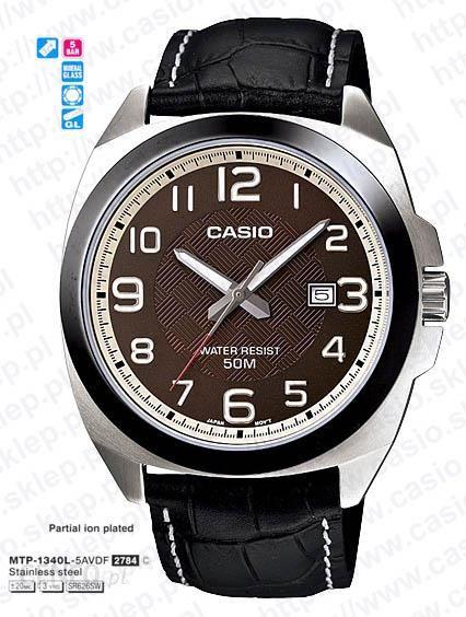 Zegarek męski CASIO MTP V301L 1A 127,00 zł cena tanio