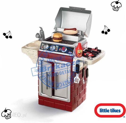 Zabawka Little Tikes Ogrodowy Grill 2w1 Kuchnia Akcesoria 617195 Ceny I Opinie Ceneopl