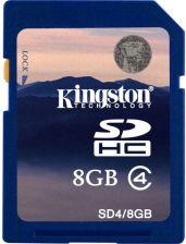 Karta Pamieci Do Aparatu Kingston Sdhc 8gb Class 4 Sd4 8gb Ceny