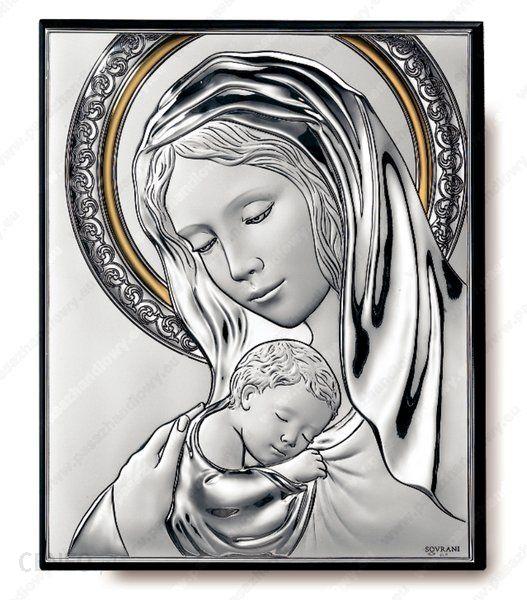 Zaktualizowano Sovrani Obraz Matka Boska z Dzieciątkiem ze złoceniem - (s#2239ORO SI75