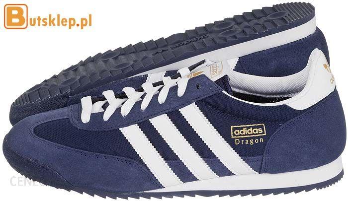Buty Męskie Adidas Dragon G50919 Granatowe r. 43 Ceny i opinie Ceneo.pl