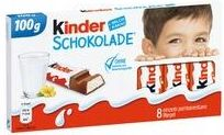 Kinder Chocolate Kinder Czekolada 100G