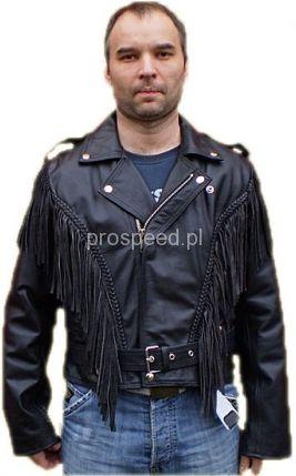 be31ae00f5a8f Odzież motocyklowa Prospeed Ramoneska Z Frędzlami Z Motywem Orła Na Plecach  - zdjęcie 1