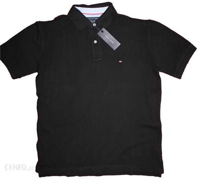 fb48241f98ddf Męska Koszulka Polo Tommy Hilfiger (czarna) - Ceny i opinie - Ceneo.pl
