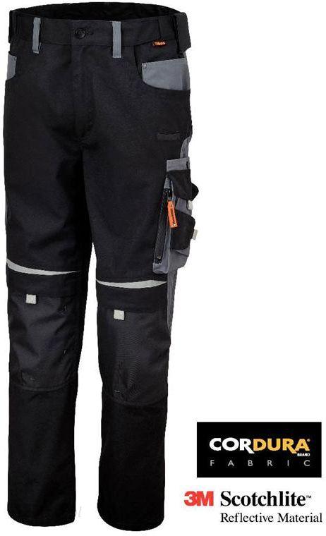 Spodnie robocze do pasa z wieloma kieszeniami TOP LINE BETA WORK 7820 Ceny i opinie Ceneo.pl