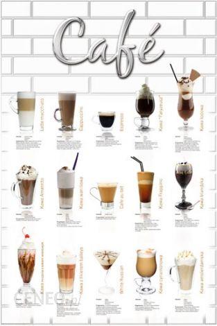 Kawa Różne Rodzaje Plakat Opinie I Atrakcyjne Ceny Na Ceneopl