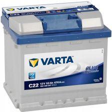 Varta Blue Dynamic C22 (52Ah 470A) (P+)