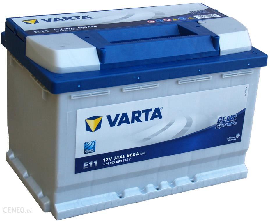 Varta Blue Dynamic E11 74ah 680a P Opinie I Ceny Na Ceneo Pl