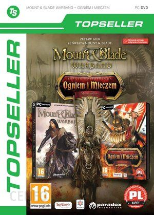 Mount Blade Warband I Mount Blade Ogniem I Mieczem Topseller Gra Pc Ceneo Pl