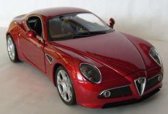 Welly Alfa Romeo 8c Competizione Czerwone 1 24 7700884184 Allegro Pl