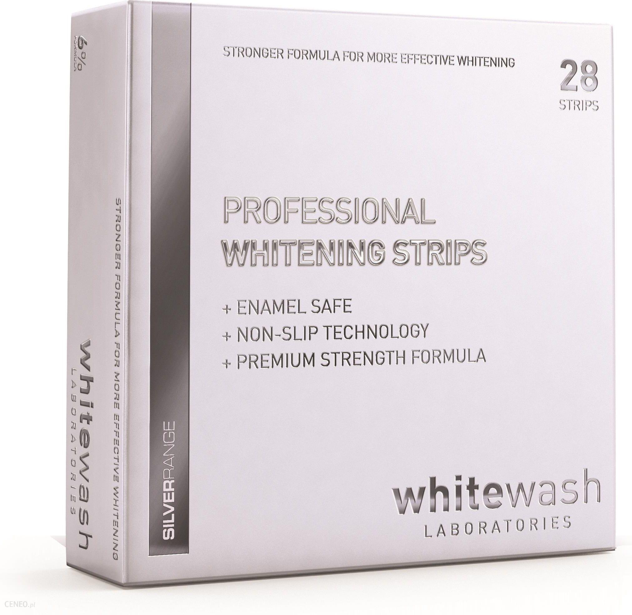 WhiteWash Wybielające Paski do Zębów 28 szt.