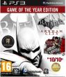 Batman: Arkham City - Game of the Year Edition - Sony PlayStation 3 - Akcja