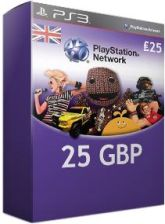 Sony PlayStation Network Card 25 GBP