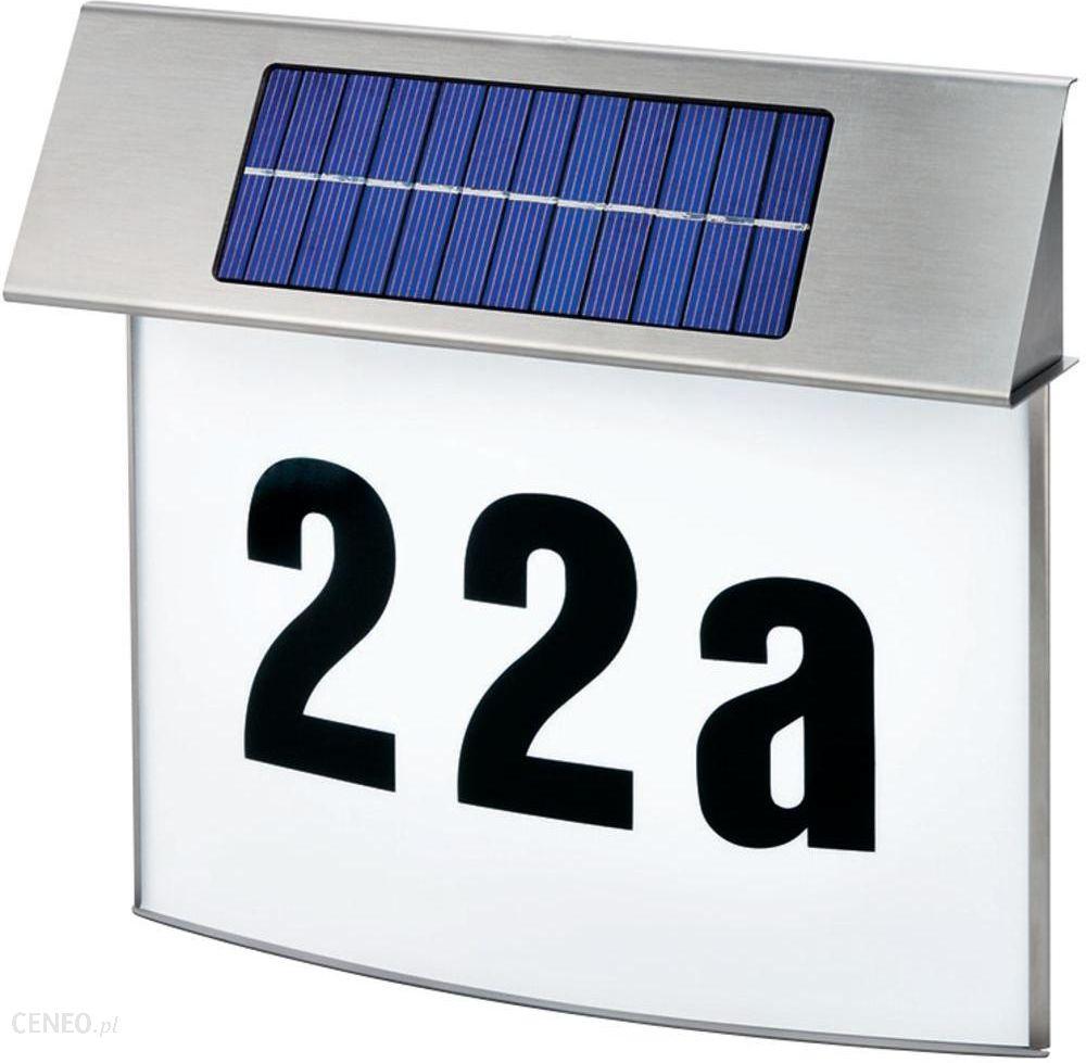 Góra Esotec Solarna Tabliczka z Numerem Domu Vision - Ceny i opinie BW31