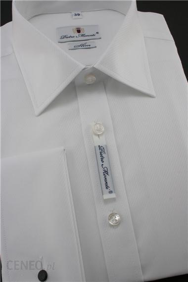Pietro Monnti koszula KSDWPM0018 Biały Ceny i opinie  WlLbA