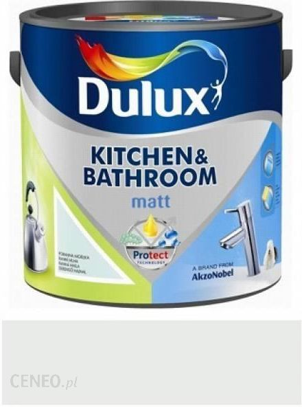 Dulux Kitchen Bathroom Matt Antyczny Marmur 25l