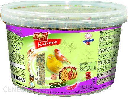 VITAPOL Pokarm pełnowartościowy dla kanarka 2,4kg (3l) wiaderko