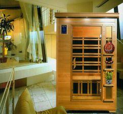 Home&Garden Sauna Na Podczerwień Z Koloroterapią Dh1 Gh