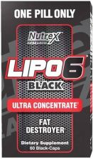 Nutrex Reserch Nutrex Lipo-6 Black Ultra Concentrate 60 Kaps