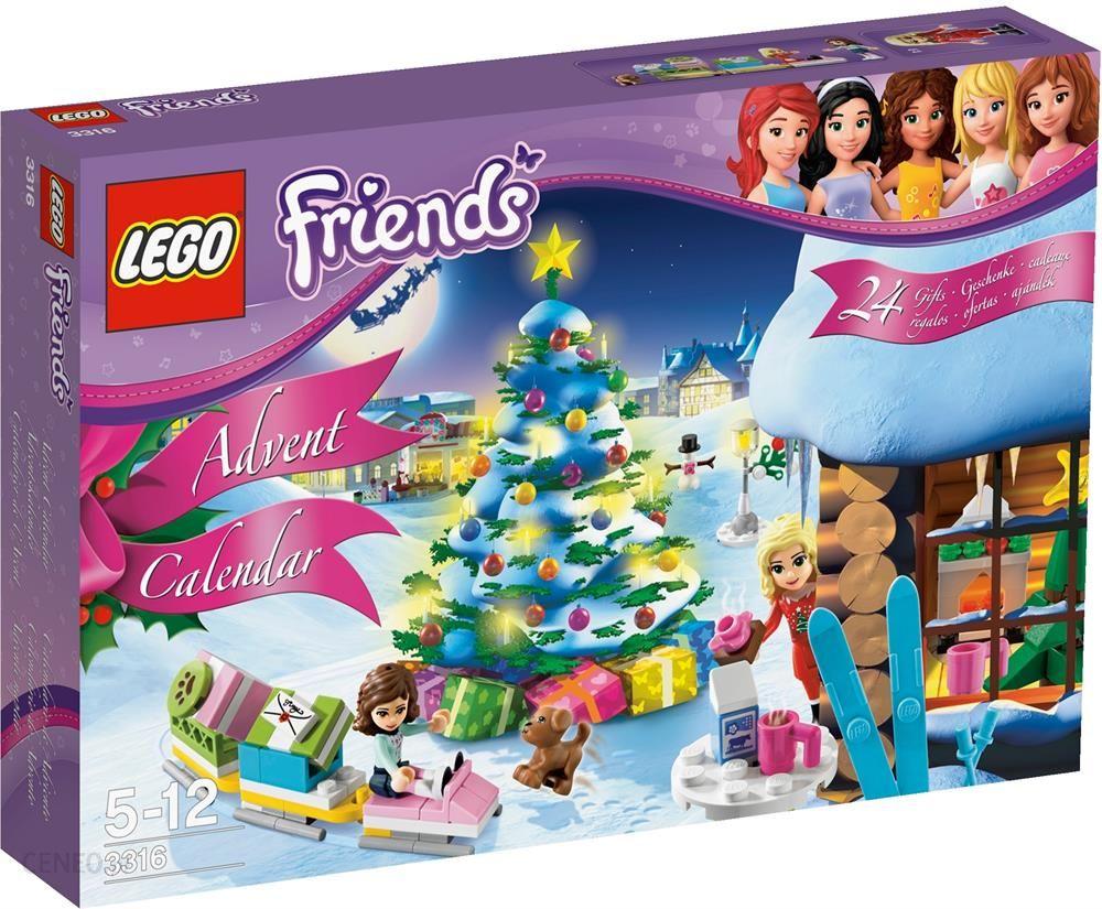 Klocki Lego Friends Kalendarz Adwentowy 3316 Ceny I Opinie Ceneopl