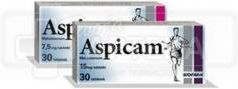 ASPICAM 7,5 mg 30 tabletek