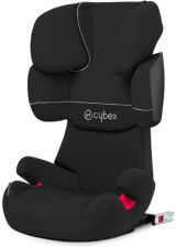 Cybex Solution X-Fix Pure Black 15-36Kg