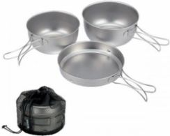 Snow Peak 3 Piece-Set With Case STW-001T