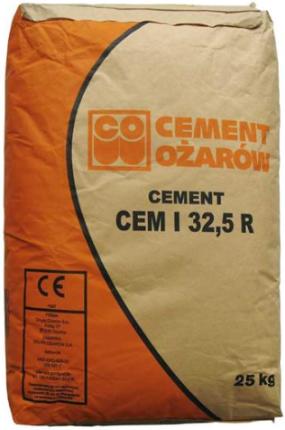 Cement Ozarow Cem I 3 25r Cement 25kg Opinie I Ceny Na Ceneo Pl