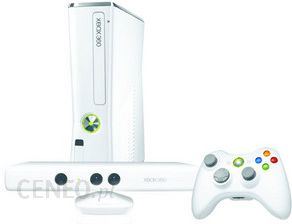 Microsoft Xbox 360 4GB Biały + Kinect Bundle + Sports