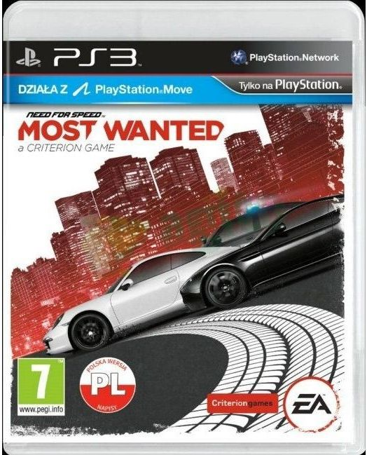 Need For Speed Most Wanted Gra Ps3 Ceneo Pl