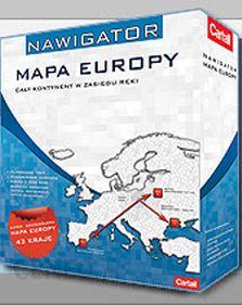 Mapa Do Nawigacji Cartall Nawigator Mapa Europy 2 0 Opinie I