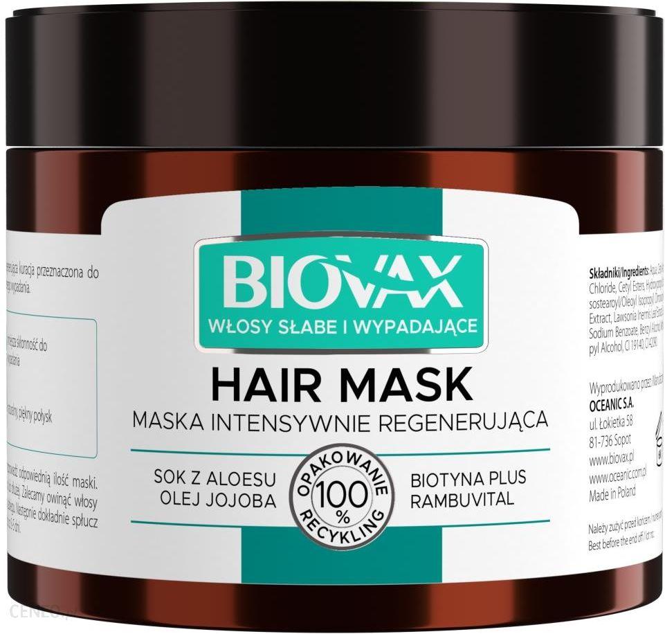 biovax odżywka przeciw wypadaniu włosów