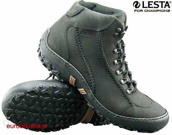 33632998b6b3d LESTA buty LE-6074-A Czarne - Ceny i opinie - Ceneo.pl
