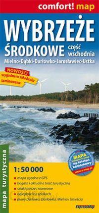 Wybrzeze Srodkowe Czesc Wschodnia 1 50 000 Mapa Turystyczna Ceny