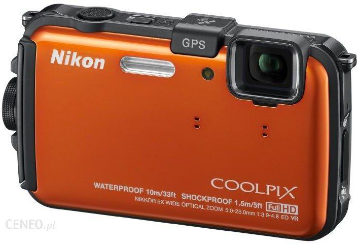 a6d044e13a348 Aparat cyfrowy Nikon COOLPIX AW100 pomarańczowy - Ceny i opinie na ...