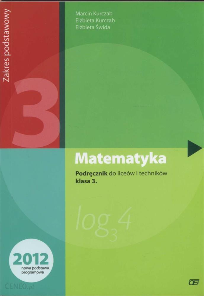 matematyka podręcznik do liceów i techników klasa 3 pdf