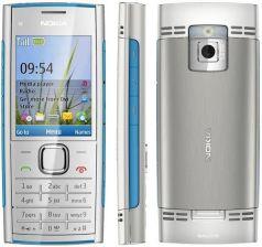 Nokia X2-00 srebrno-niebieski