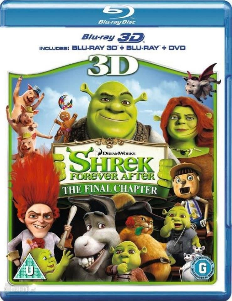 Film 3d Shrek Forever After 3d Blu Ray Ceny I Opinie Ceneopl