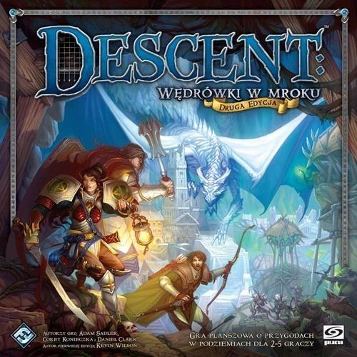 """""""Descent Board"""" žaidimas: Kelionės tamsoje (antrasis leidimas)"""